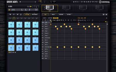 Groove Agent drum machine for beat making drum plugin