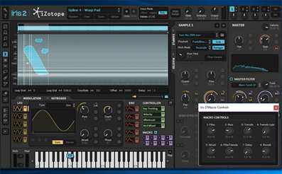 Iris 2 sound design plugin - Iris 2 presets - synth pads