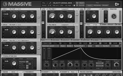 Native Instruments Massive synth VST plugin