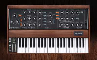 Analog synth - Minimoog plugin model D synthesizer