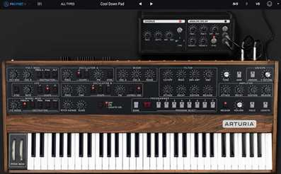 Artirua V Collection Prophet vintage synth