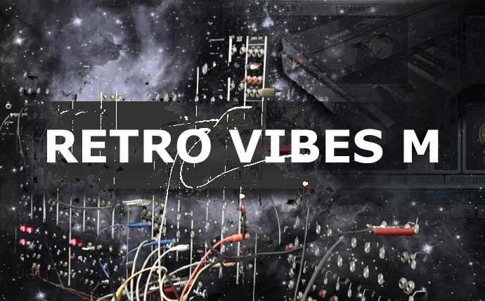 Retro Vibes M Massive Presets - Synthwave and Retrowave