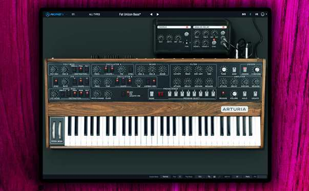 Free presets - V collection synthesizer bundle demo for Prophet V3