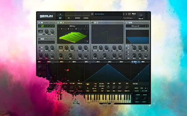 Xfer Serum plugin psy trance bundle. High quality psytrance sounds by design by Mark Gray.