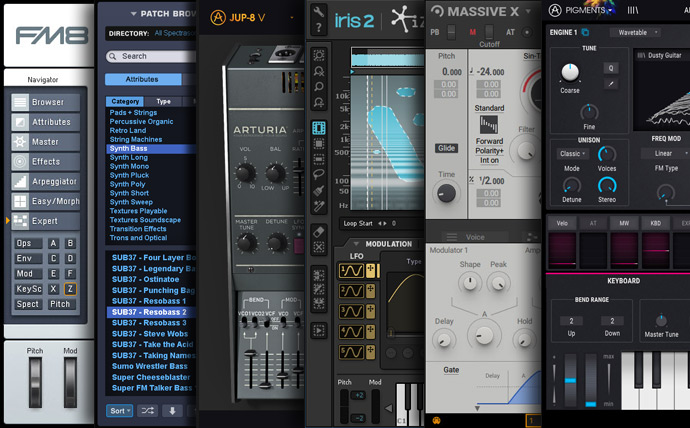 Free sounds and free presets for your favorite synthesizer
