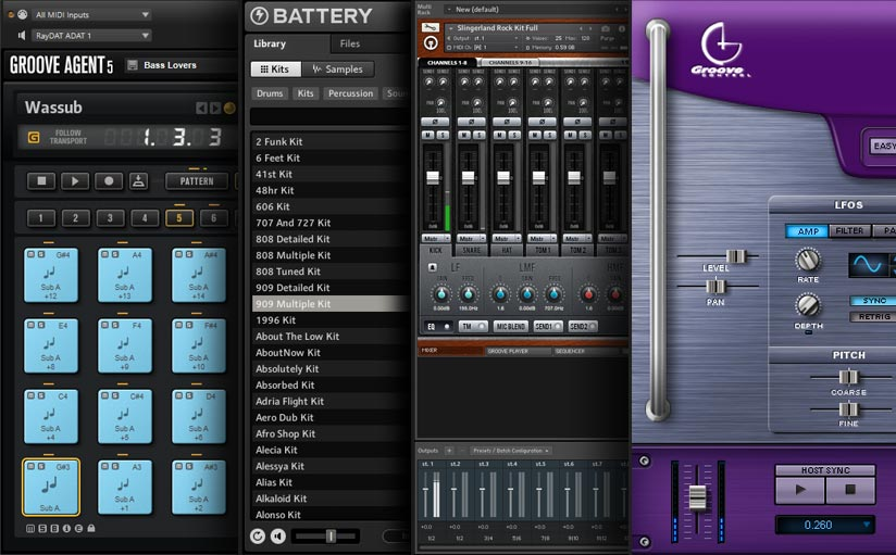 Best Drum machines and samplers for making beats and music production