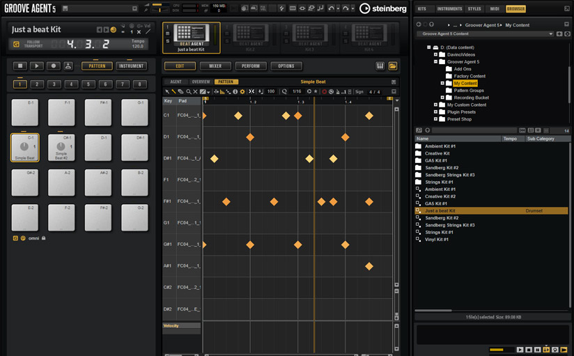 Making beats with Groove Agent 5 and Stylus RMX - a guide to drum production.