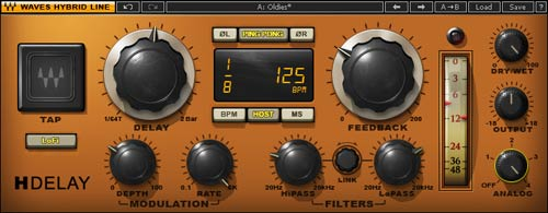Waves H-Delay is one of the greatest plugins